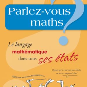 couverture ouvrage parlez-vous maths