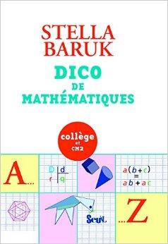 Couverture de Dico des mathématiques