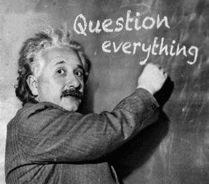 Réflexion de la semaine : Les mathématiques, c'est l'art de se poser des questions