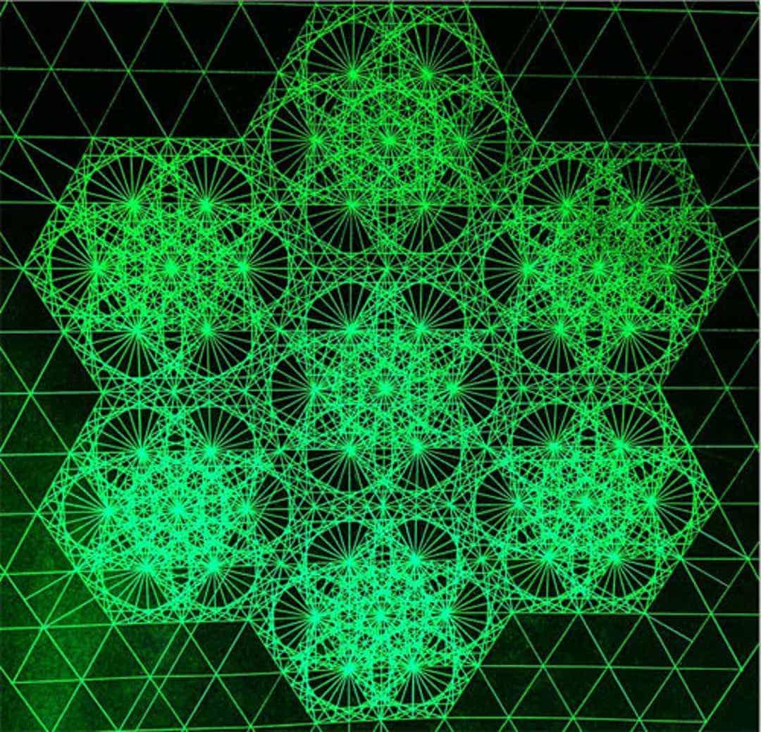un dessin géométrique
