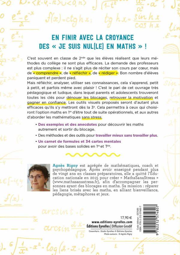 Couverture Verso - Faire des maths avec plaisir et sans stress