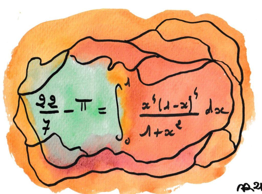dessin et formule de maths