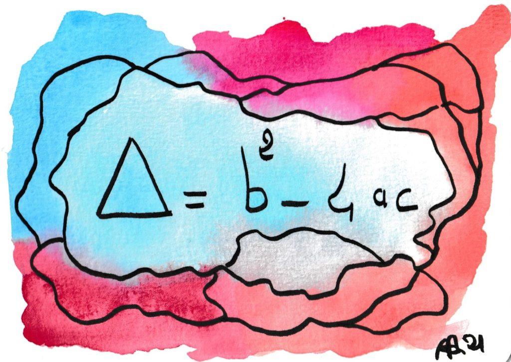 formule de maths et dessin
