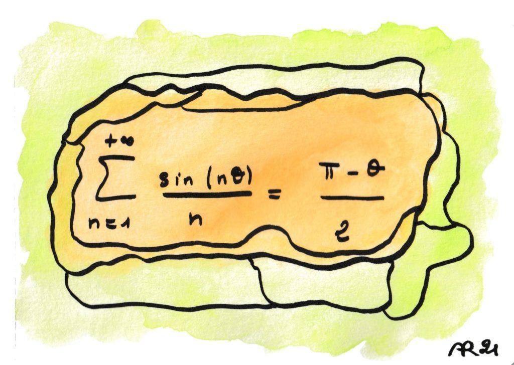 dessin avec formule de maths