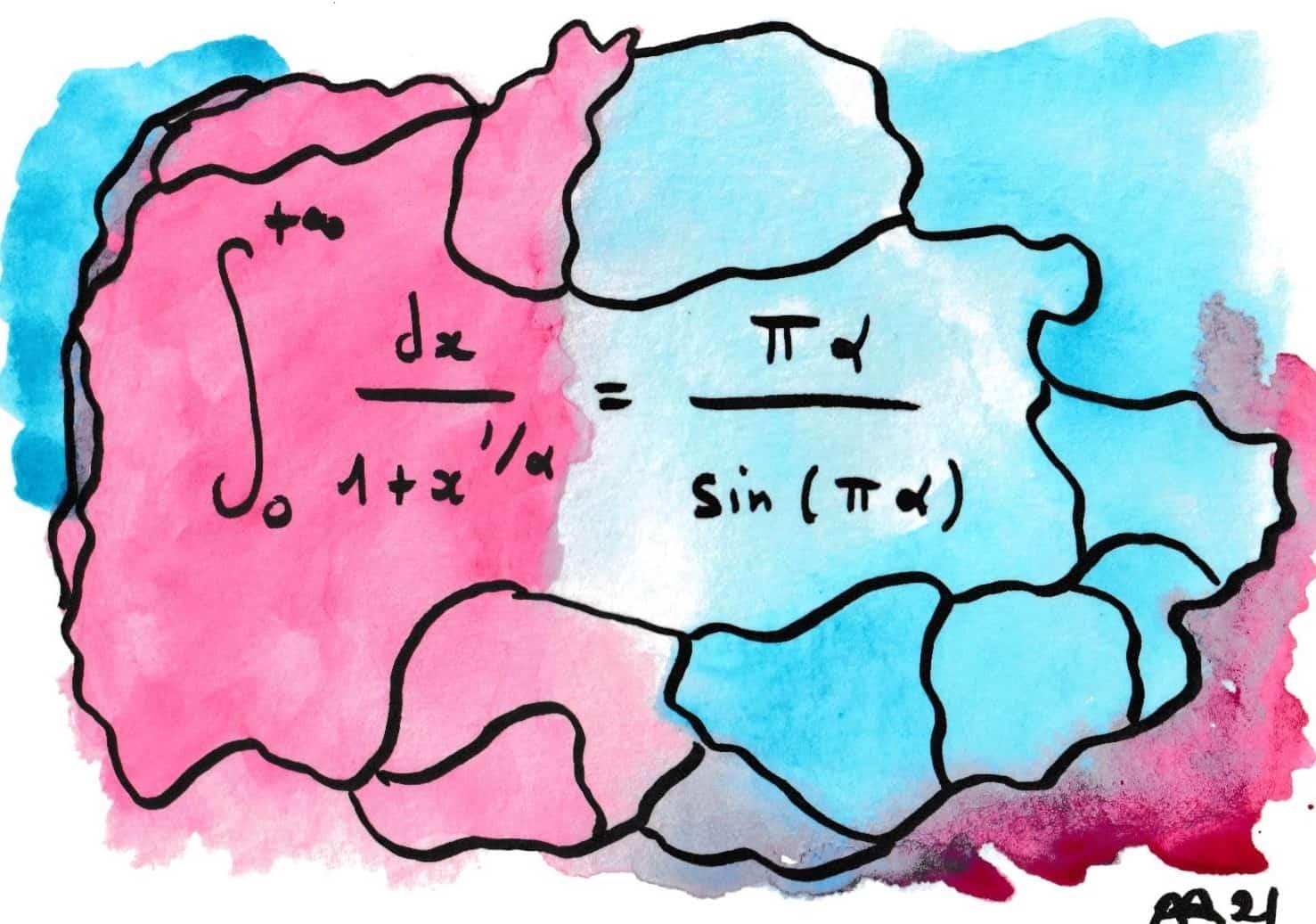 La beauté des formules de mathématiques 18