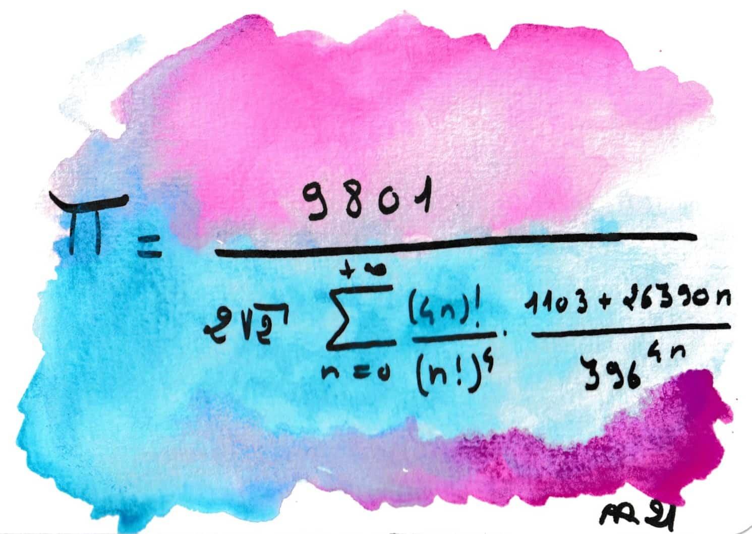 La beauté des formules de mathématiques 14