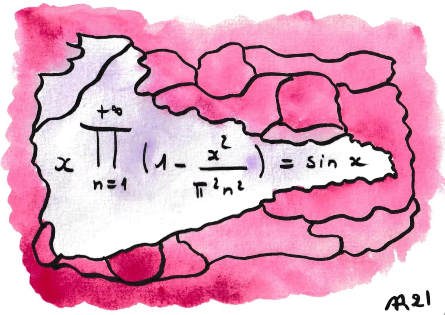 La beauté des formules de mathématiques 16