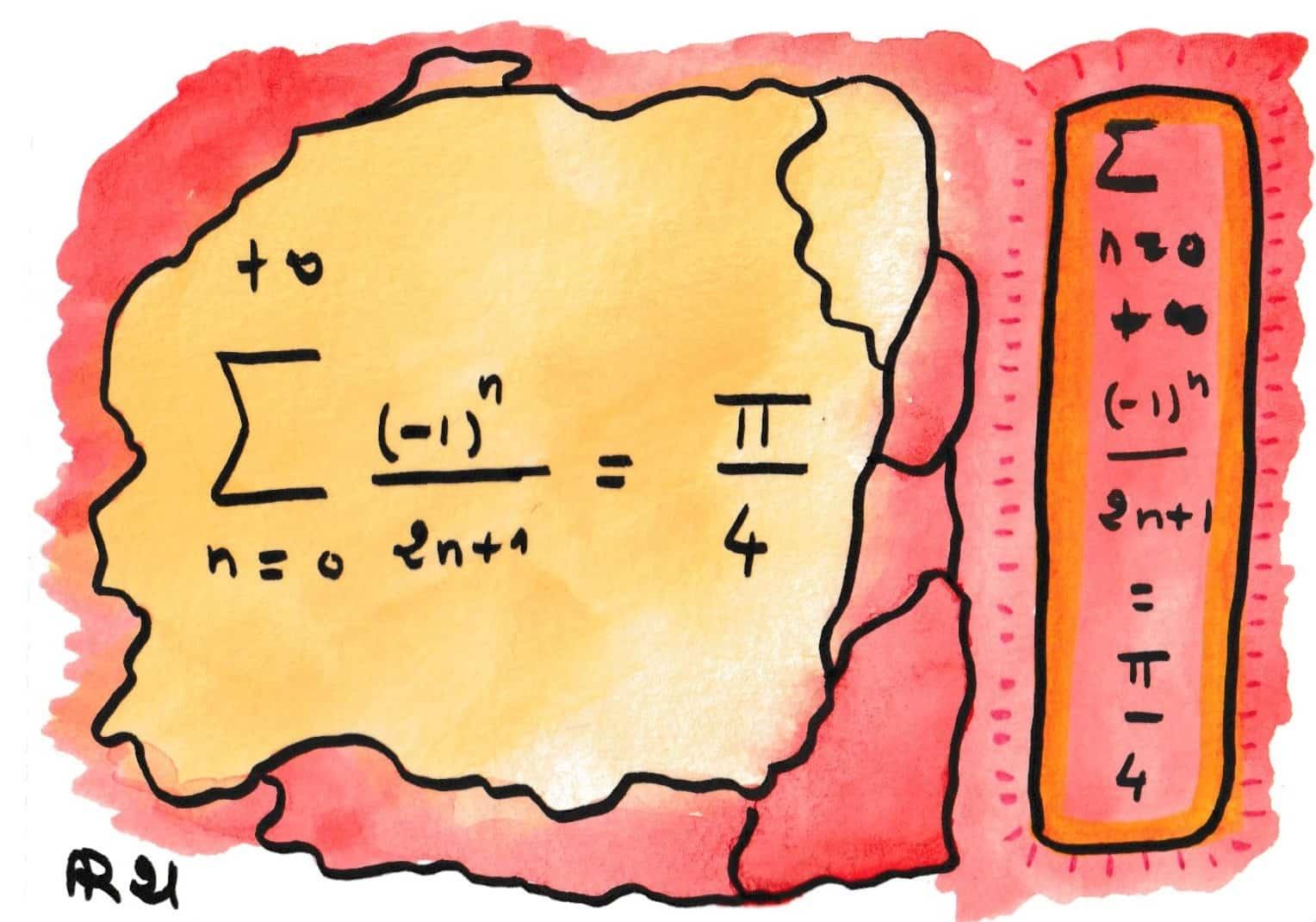 La beauté des formules de mathématiques 15